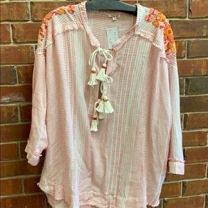 Johnny was PETE&GRETA cotton/gauze embroidered